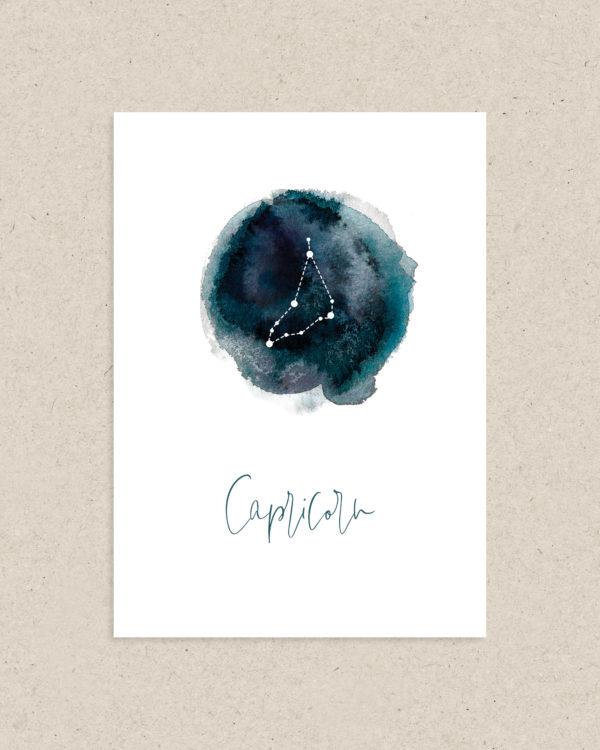 carte signe astrologie zodiaque capricorne