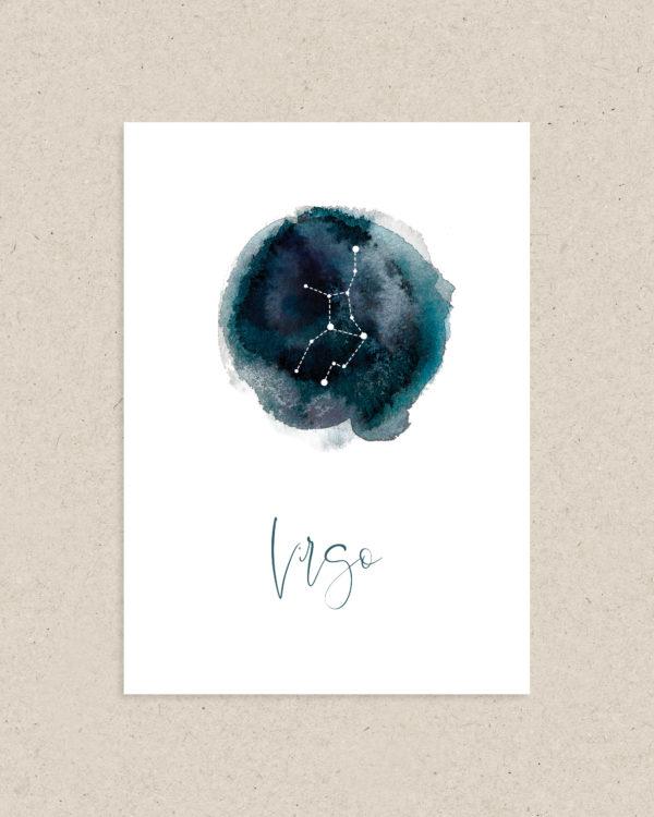 carte signe astrologie zodiaque vierge